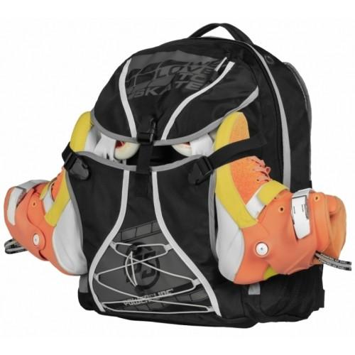 Inlinesryggsäck Powerslide Sports Backpack - 55 lit. Svart