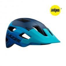 Cykelhjälm Lazer Chiru MIPS - matt blå steel