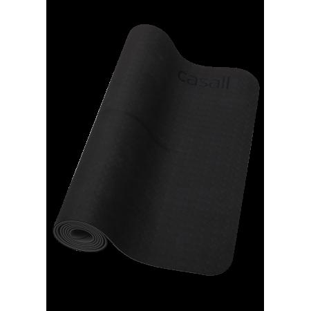 Yogamatta Casall Yoga mat position 4mm - Black/grey