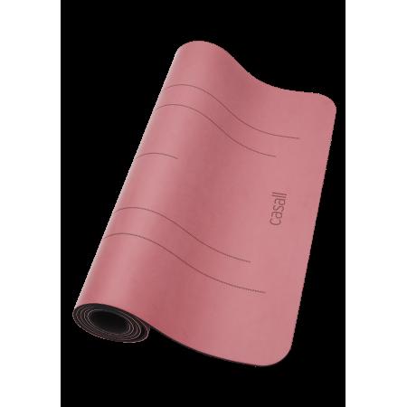 Yogamatta Casall Yoga mat Grip & Cushion III 5mm - Comfort Pink / Black