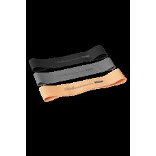 Casall PRF Rubber bands 3pcs - grey/black/orange