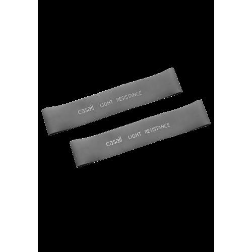 Casall Rubber band light 2pcs - Light grey
