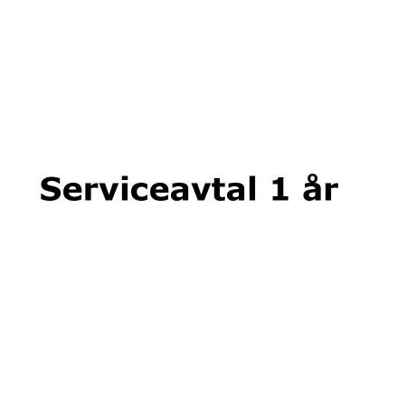 Serviceavtal 1 år
