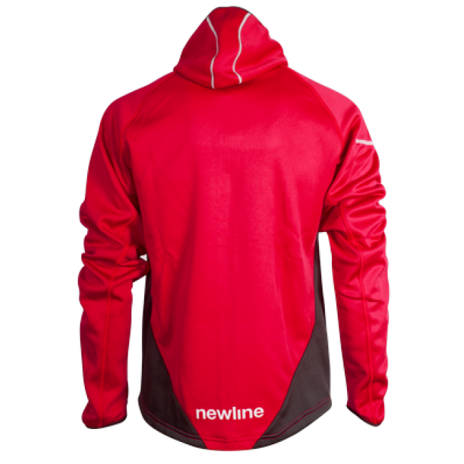 Newline Warm-up jkt w/hood base man