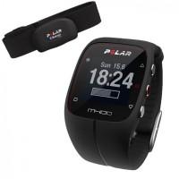 Polar M400 HR Pulsklocka med GPS och Aktivitetsmätare Svart