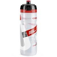 Cykelflaska Elite Supercorsa 750ml Klar med röd logo