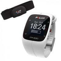 Polar M400 HR Pulsklocka med GPS och Aktivitetsmätare Vit