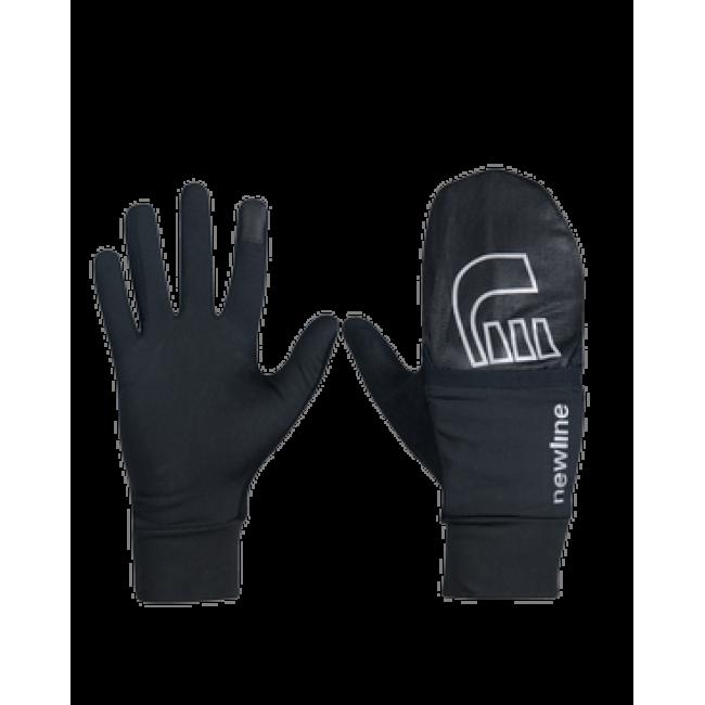 Löparhandskar Newline Windrunner Gloves Svart