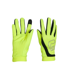 Löparhandskar Newline Thermal Gloves - Neon Yellow