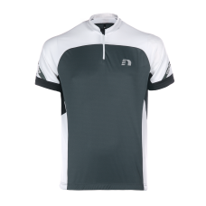 Cykeltröja Newline Bike jersey - Black-Grey