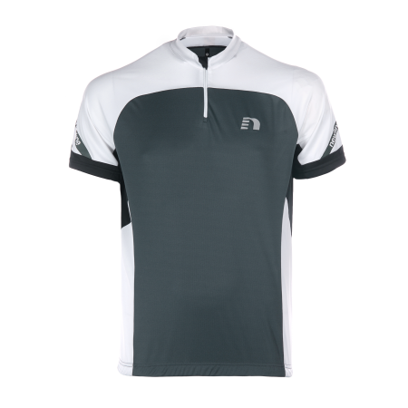 Cykeltröja Newline Bike jersey - Black-Grey