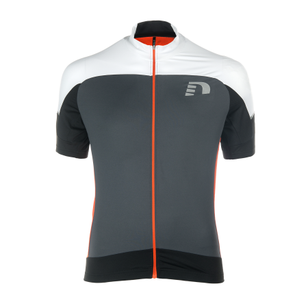 Cykeltröja Newline Bike Stretch Jersey - Grå Orange