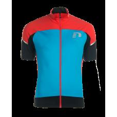 Cykeltröja Newline Bike Stretch Jersey - Blå Röd