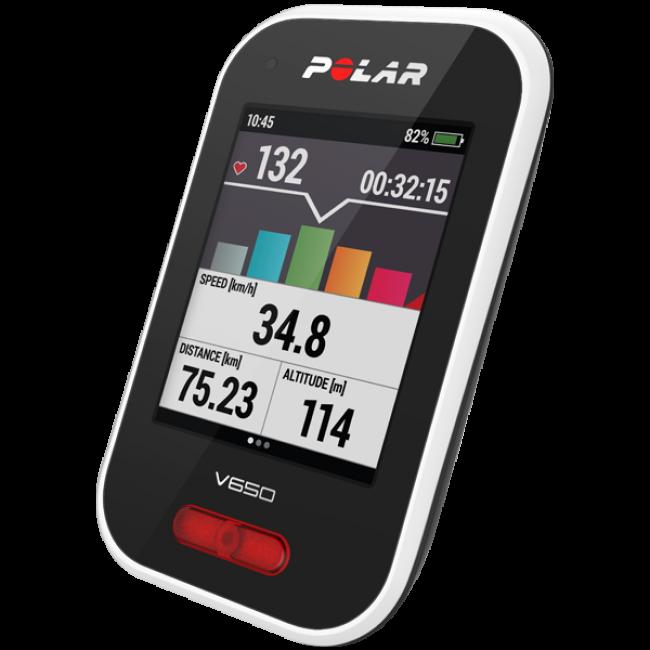 Cykeldator med GPS + Kartor Polar V650