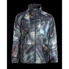 Newline Löparjacka Imotion Printed Hood Jacket - Stormy Sky Print Storlek M