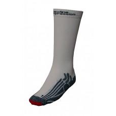 Träningsstrumpor Newline Compression Socks Vita Storlek 35-38