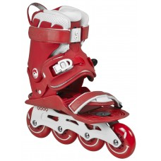 Inlines Powerslide DOOP Classic - red / white 4x80mm