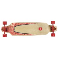 """Longboard Choke Turnover II Pro Topmount - green / red 38x9.25"""""""