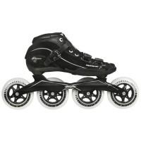 Speedskates Inlines Powerslide X Skate Men - Black / Silver 4x100mm