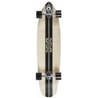"Longboard Playlife Carver - natural / black 36x8.75"""