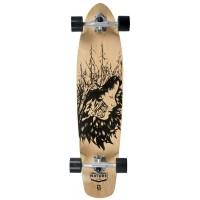 "Longboard Playlife Cruiser - natural / black 36""X8,5"""