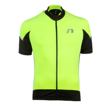 Cykeltröja kortärmad Newline Bike Stretch Jersey - Black-Yellow