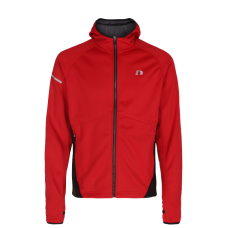 Newline Base Warm Up Jacket Kids - Red - Barn
