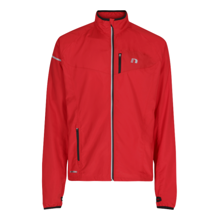 Löparjacka Barn Newline Base Race Jacket Kids - Red