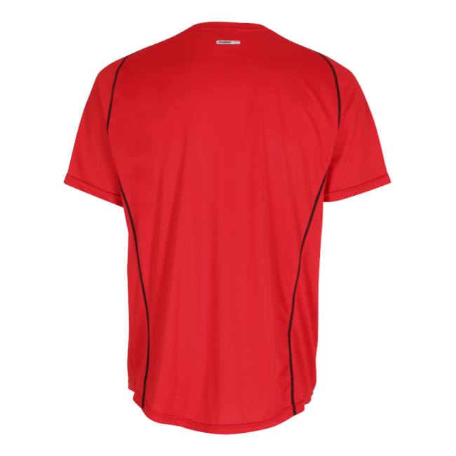 T-shirt Barn Newline Base Coolskin Tee Kids - Red