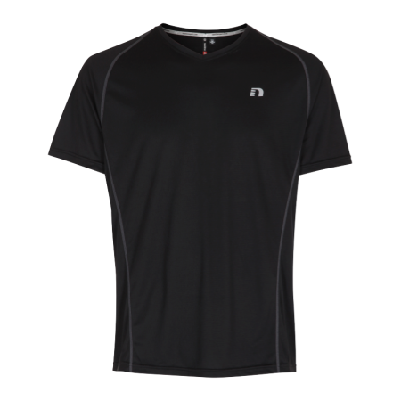 T-shirt Barn Newline Base Coolskin Tee Kids - Black