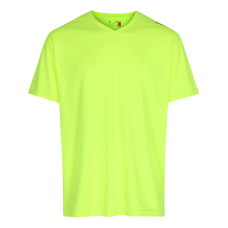 T-shirt Barn Newline Base Cool Tee Kids - Neon Yellow