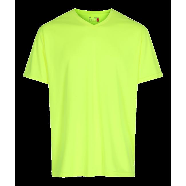 T-shirt Barn Newline Base Cool Tee Kids - Neon Yellow
