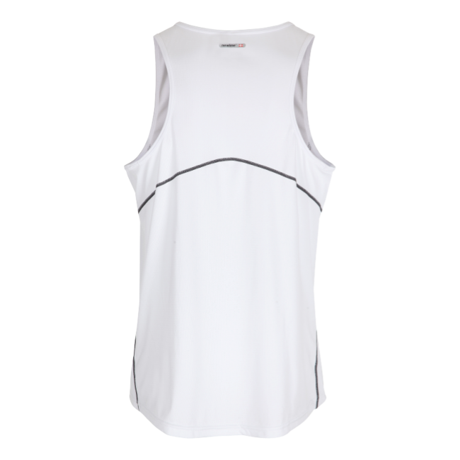 Träningslinne Barn Newline Base Coolskin Singlet Kids - White