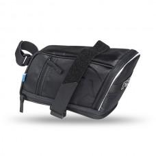Sadelväska Pro Maxi Plus Strap spännrem