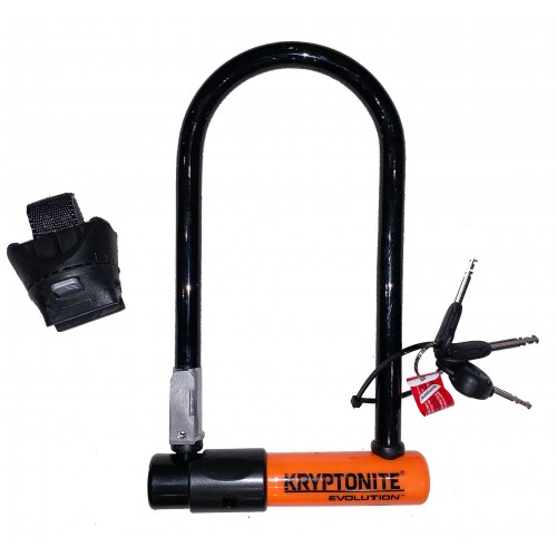 Cykellås Kryptonite U-Lock Evolution STD SSF 10.2x22.9cm