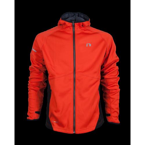 Newline Base Warm Up Jacket - Hot Orange Storlek S