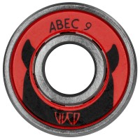 Inlineslager Powerslide WCD ABEC 9 Freespin - 12-pack