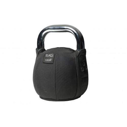 Casall Kettlebell soft 16kg - Black