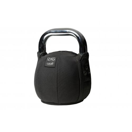 Casall Kettlebell soft 12kg - Black