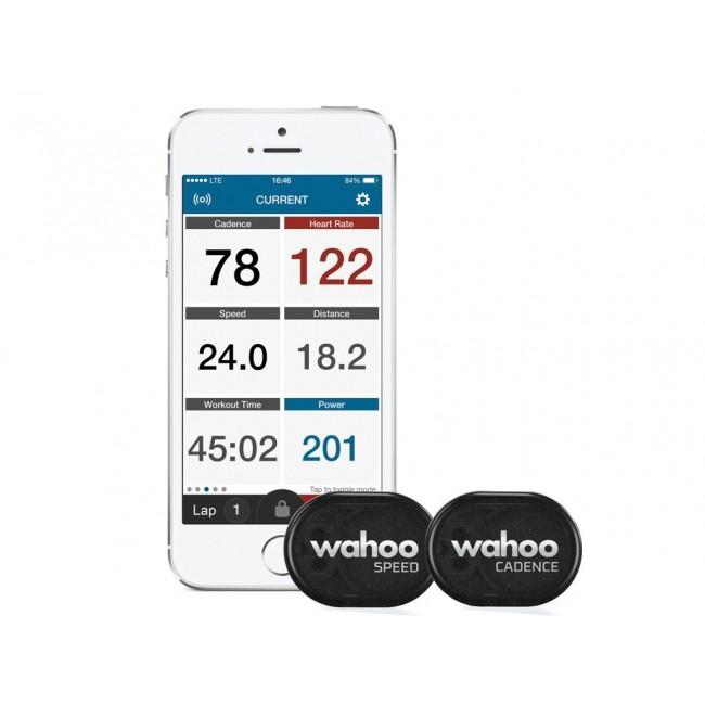 Kadens och Hastighetssensor Wahoo RPM Speed & Cadence Combo
