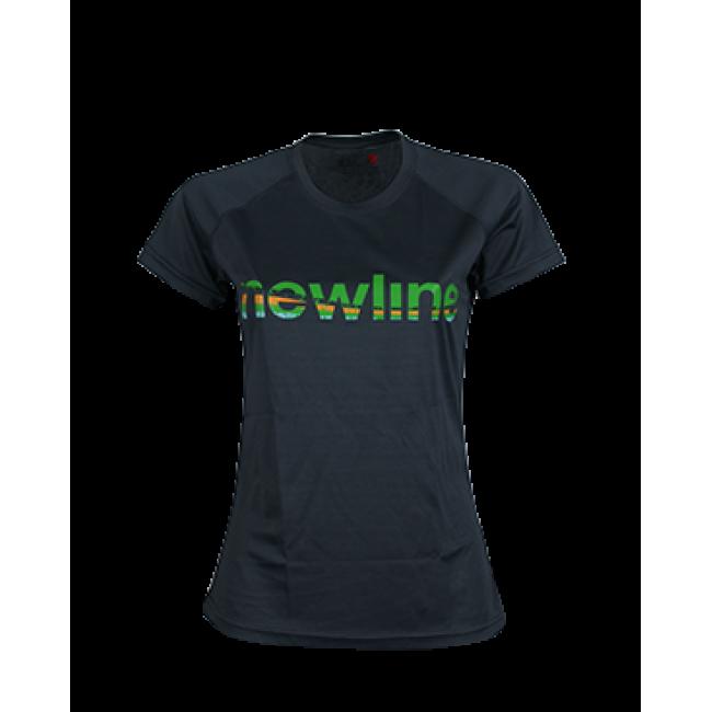 Funktions T-Shirt Newline Base Logo Tee Grå Dam Storlek XL
