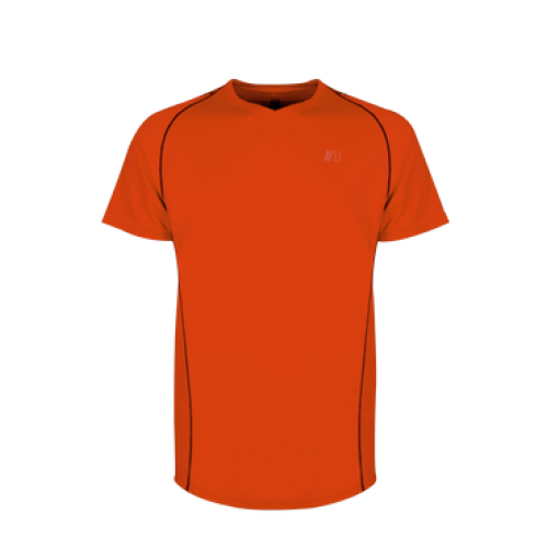 Tränings T-Shirt Newline Base Coolskin Tee Orange Herr  Storlek XL
