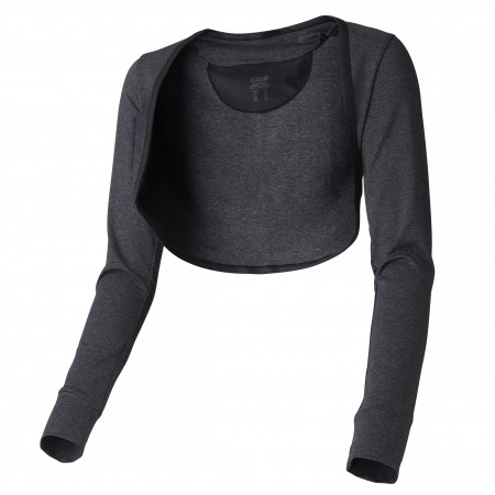 Casall Motion Shrug - Black melange Storlek 44