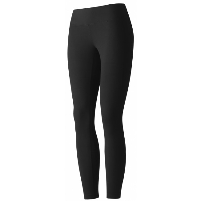 Casall Essential 7/8 logo tights - Black Storlek 42
