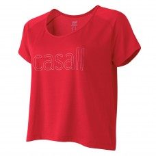 Casall Loose mesh running tee - Lithium Storlek 44