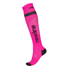 Newline Compression Sock - Neon Pink