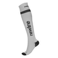 Newline Compression Sock - White