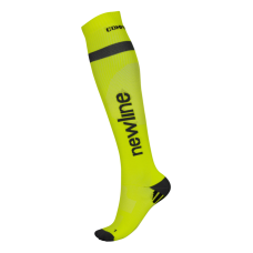 Newline Compression Sock - Neon Yellow