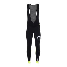 Newline Bike Waterproof Bib Overall - Black-Yellow