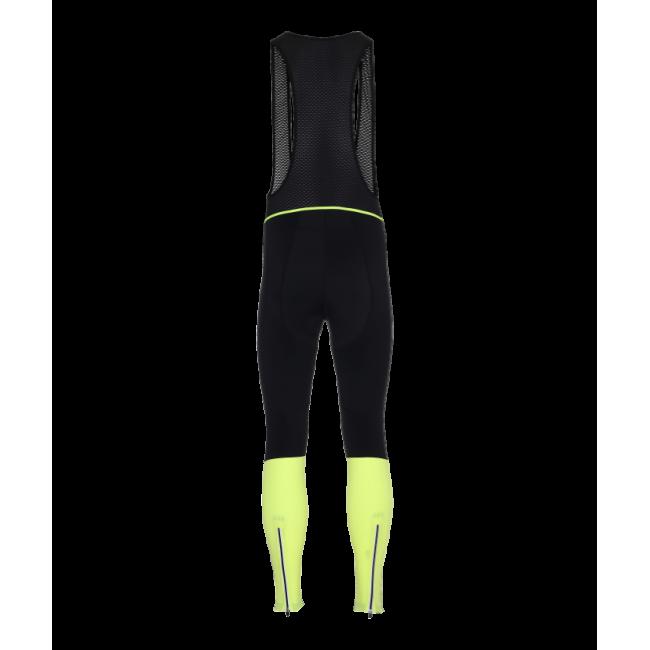 Newline Bike Waterproof Bib Overall - Black-Yellow